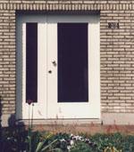 gepanserde deur
